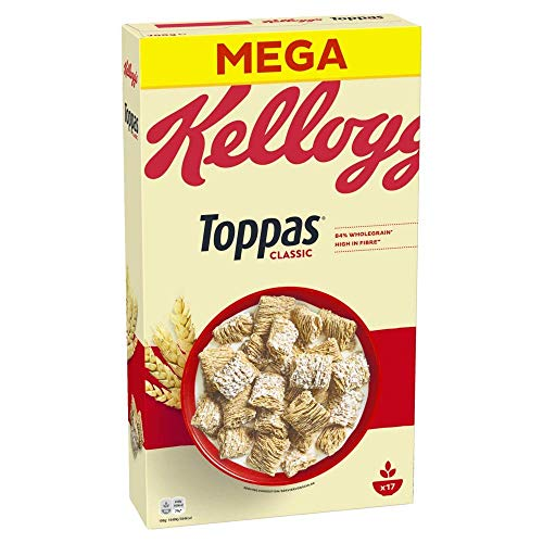Kellogg's Toppas Cerealien | Vollkorn Cornflakes | Einzelpackung (1 x 700g)