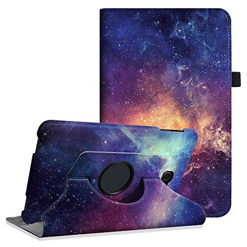 Fintie Hülle für Samsung Galaxy Tab A 10,1 Zoll T580N / T585N Tablet - 360° Drehbarer Stand Cover Case Schutzhülle Tasche Etui mit Ständerfunktion Auto Schlaf/Wach Funktion, DieGalaxie