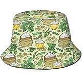 Well I do! Bucket Hat Farina di soia Pianta di soia Cappello da pescatore Unisex Cappello da pescatore reversibile Cappello da viaggio Casual Beach Golf Cappelli da Sole per uomo Donna