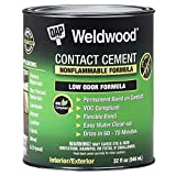 Dap 25332 Weldwood Nonflammable Contact Cement, 1-Quart...