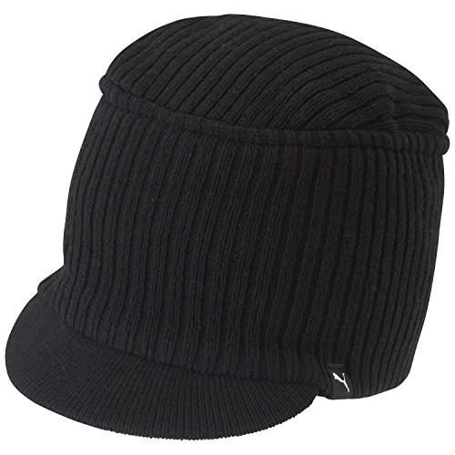 PUMA Mütze Snyder Knit Military Cap - Gorra para Hombre, Color Negro,...