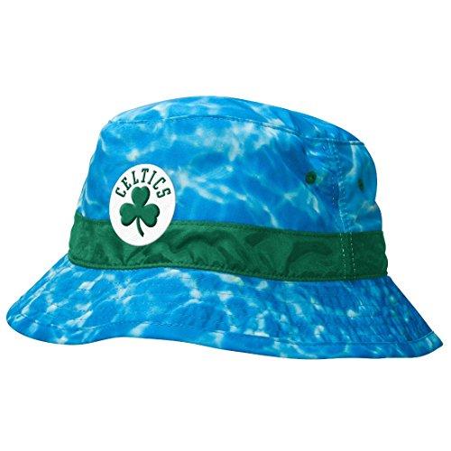 Boston Celtics Mitchell & Ness NBA'Surf Camo' Bucket Hat