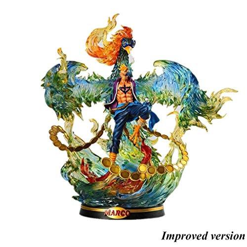 Jiaming One Piece: Marco Das Phantom Phoenix PVC Figure - 15.74 Inches