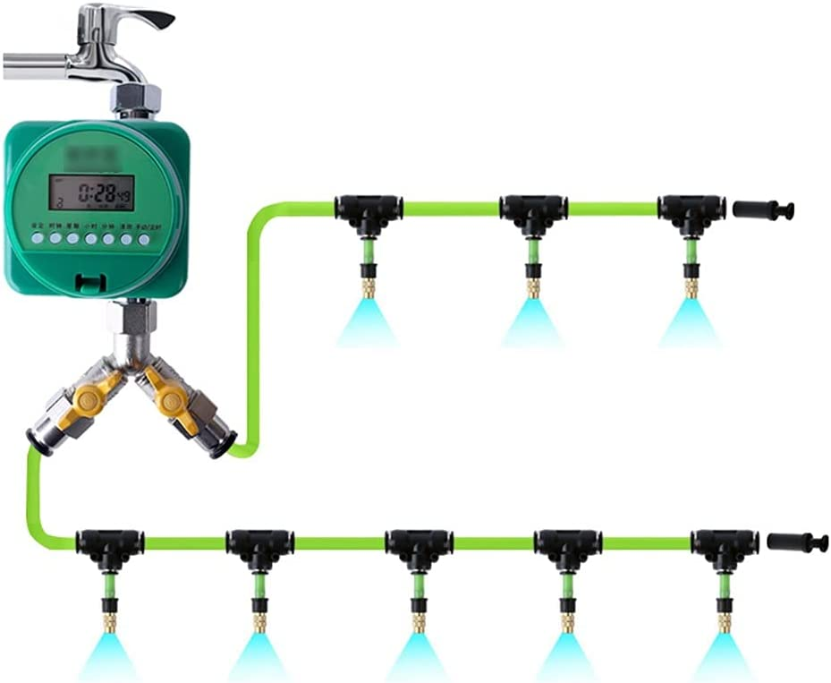 BBGS Garden Hose Kit with Timer I Surprise New York Mall price Irrigation Drip System Micro