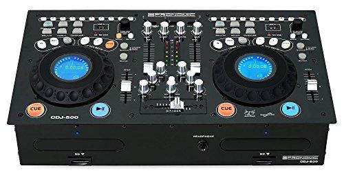 Pronomic CDJ-500Estación completa doble para DJ, con reproductor de...