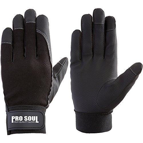 富士グローブ PS-992 プロソウル黒 LLサイズ 7521 合皮手袋