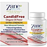 Zane Hellas Candidfree Softgels. Oregano Oil Power. Candida Support. Yeast Defense. Gut Health Support. Colon Health Support. Intestinal Flora Support. 100% Herbal Solution. 120 Softgels. Pack of 2