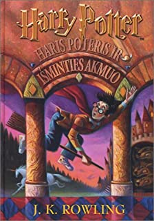 Haris Poteris ir Isminties Akmuo (Lithuanian edition of Harry Potter and the Sorcerer's Stone)