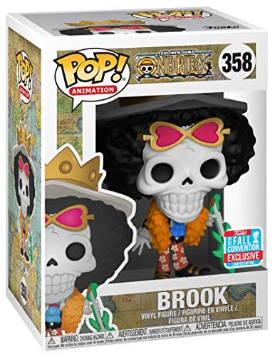 FunKo NYCC 2018 Pop! Vinyl Figure One Piece Brook Fall Convention Exclusive Figure