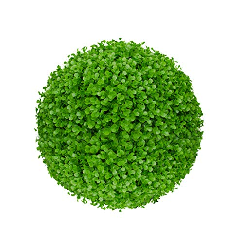 Artificial Plants Grass Ball Topiary Fake Faux Outdoor Indoor Plastic Green Hanging Flowers Mini Small Large tall Round Bonsai Trees Replica Vine Pots Pot Decor Decoration Decorative Leaves Foliage Gr