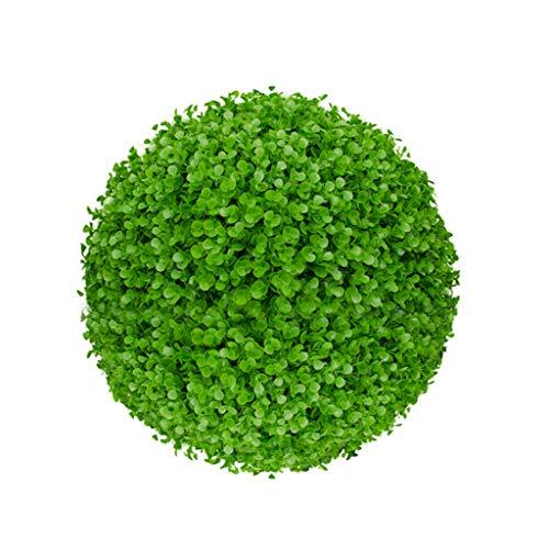 LXLTL Kunstpflanzen Hochwertige Künstliche Buchsbaumkugel Naturgetreu & Wetterfest - Dichtes Blattwerk Natürliche Farben Premium,50cm