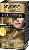 SYOSS Oleo Intense Permanente Öl-Coloration, Haarfarbe 7-10 Naturblond, mit pflegendem Öl & ohne...