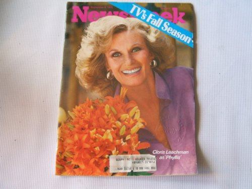 Newsweek September 8, 1975 (CLORIS LEACHMAN AS PHYLLIS - TV'S FALL SEASON, VOLUME LXXXVI, NO. 10)