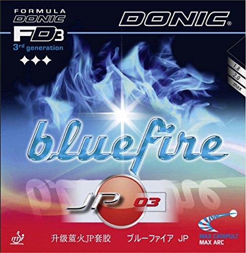 Donic goma Bluefire JP03, 2mm, Black