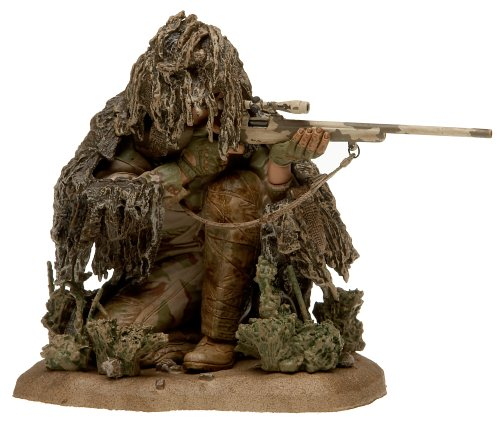 McFarlane Military: Second Tour of Duty - (Caucasian) Army Special Forces Sniper