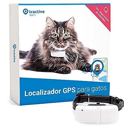 Tractive Collar GPS para gatos (2021), Sígalo a todas partes, Localización las 24 horas, Historial de 365 días