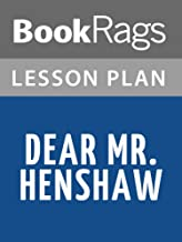 Lesson Plans Dear Mr. Henshaw