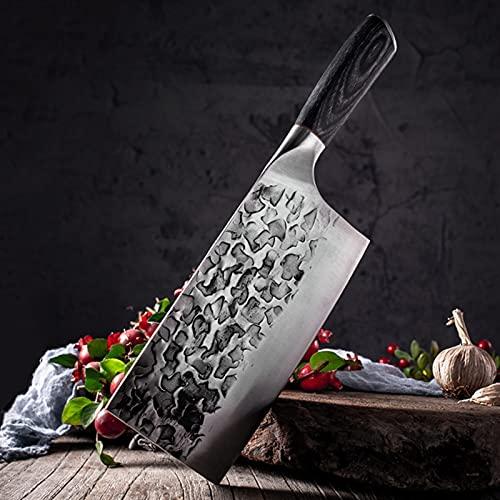 Cuchillo de cocina 5 7 8 pulgadas 7CR17 440C Steería de acero inoxidable CHEVER CHEF CHEF CHEW DIBUJO PEQUETE SOBRE Santoku Cocinar herramienta