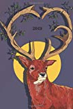 2019: Planner - 12 Months - 1 Day per Page - January 2019 to December 2019 -  Agenda, Calendar, Schedule Organizer and Journal Notebook -