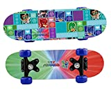 Joy Toy- PJ Masks SUPERPIGIAMINI Mini-Skateboard in Legno, Multicolore, 1