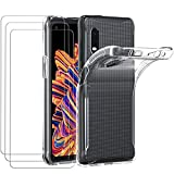 ivoler Hülle für Samsung Galaxy Xcover Pro + [3 Stück]