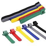 Ataduras Cables, Jolintek 90Pcs Organizador Cables Bridas...