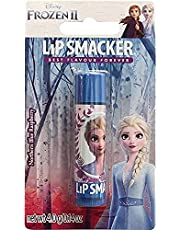 Lip Smacker Lip Smacker - Disney's Frozen Collection - Burrocacao per Bambini - Lip Smacker Disney Elsa Balsamo Labbra Singolo - Gusto Lampone - 30 g