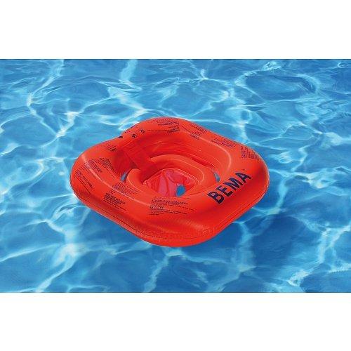 Der BEMA Baby-Schwimmsitz ist die perfekte Schwimmlernhilfe, mit der sich Kleinkinder mit der Wasserumgebung vertraut machen und an das Schaukeln auf dem Wasser gewöhnen können. Die Kleinen sitzen wie in einem Sessel und werden viel Spaß haben, wenn sie durch das Wasser gezogen werden. sehr sicherer Baby-Schwimmsitz / Babysitz / sehr gute Schwimmlernhilfe / Babyschwimmsitz / Schwimmlernhilfe für Babys / Schwimmhilfe für Babys / Schwimmsitz mit 4 Luftkammern mehrere Luftkammern sorgen für Sicherheit. Sollte eine defekt sein, schwimmt es dennoch. / Das Besondere : Frei von Phthalaten gemäß Richtlinie 2005/84/EG
