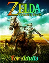Zelda Coloring Book for Adults: Funny Coloring Book for Legend of Zelda Fans , Coloring Pages of Cute Characters.