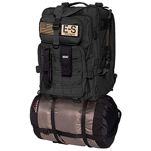 9005643 Echo-Sigma Emergency Bug Out Bag Black