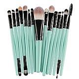 15Pcs Makeup Brush Set Eyeshadow Foundation Liquid Eyeliner Eyelashes lip Makeup Brush Cosmetic Beauty Tool Set