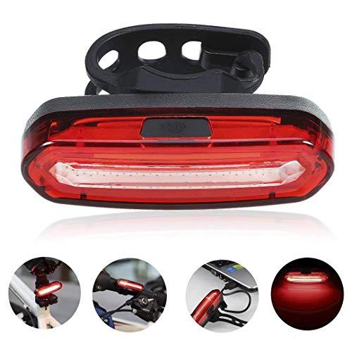 SLRR USB aufladbar, IPX6 super wasserdicht, 5 Modi zur Auswahl, rot und weiß blau, 3-13 Stunden lang verwenden
