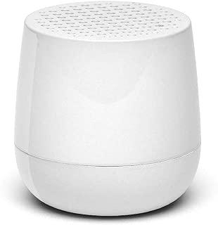 Lexon MINO - Ultra Portable Bluetooth Speaker & Selfie Remote - Rechargable (Glossy White)