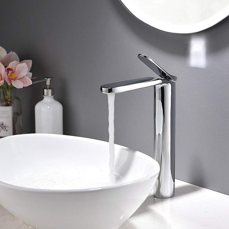 XHCP Waschtischarmatur Waschbecken Wasserhahn Chrom Galvanik Deck Montiert Einhand Einlochmontage Badarmaturen