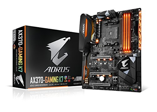 Gigabyte ga-ax370-gaming K7 AM4 AMD X370 RGB Fusion Smart fan 5 HDMI M.2 u.2 USB 3.1 tipo C scheda madre ATX DDR4