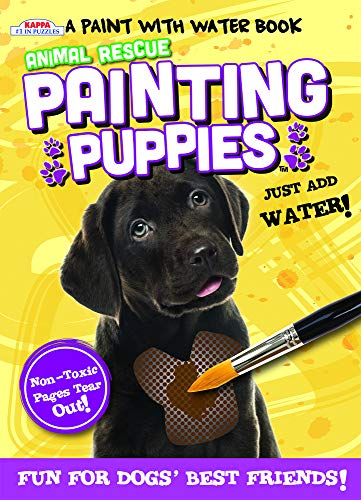 Animal Rescue Paint with Water Activity Book-Fun for Dogs' Best Friends