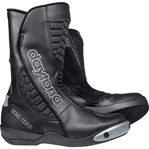 Daytona Boots Motorradschuhe, Motorradstiefel lang Strive GTX Sportstiefel schwarz 42, Unisex, Sportler, Ganzjährig, Leder