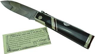 Navaja Celaya Machete Cinquillos Asta Búfalo 7,5 cm