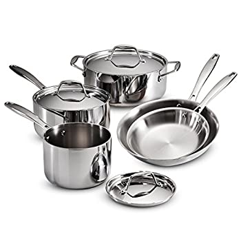 Tramontina 8-Piece Cookware Set Stainless Steel 80116/247DS