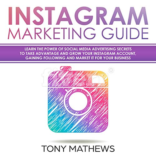Instagram Marketing Guide audiobook cover art
