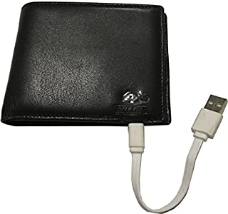 Tuopuke Genuine Leather Wallet Bluetooth Connected with Phone IOS Andriod APP Available Anti Lost Selfie Wallet