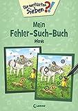 Die verflixten Sieben - Mein Fehler-Such-Buch - Pferde: Rätsel für
