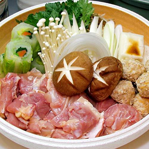 水郷のとりやさん 国産鶏肉 鳥鍋セット 野菜付き 4〜5人前 【冷蔵便限定】水郷どり 肉加工品ギフト