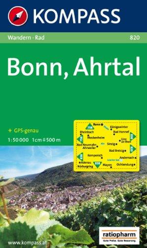Bonn, Ahrtal: Wandern / Rad. GPS-genau. 1:50.000