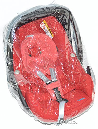 Imagen para Protector de lluvia Compatible con Maxi Cosi Pebble asiento de coche (228)