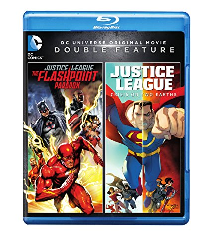 DCU: Justice League: The Flashpoint Paradox/DCU: Justice League: Crisis On Two Earths (BD) (DBFE) [Blu-ray]