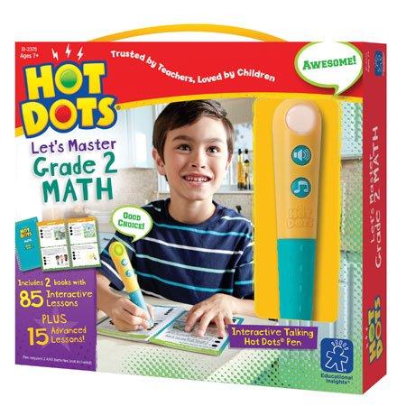 Educational Insights Hot Dots Let's Master 2nd Grade Math...
