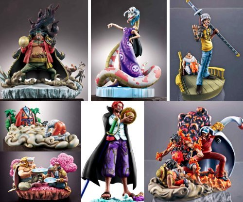 One piece log box Marin Ford Hen sequel ONE PIECE LOGBOX Megahouse (all six full comp set) (japan import)