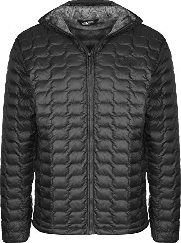 The North Face Herren Daunenjacke Thermoball, XL, Asphalt Grey-fusebox Grey Process Print