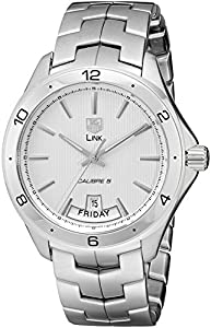 TAG Heuer Men's WAT2011.BA0951 Link Silver Dial Watch image